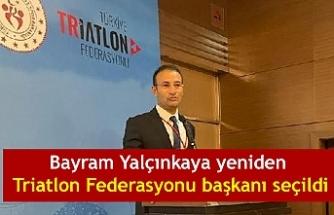 Bayram Yalçınkaya yeniden Triatlon Federasyonu başkanı seçildi