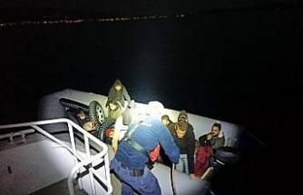 Bodrum'da 24 kaçak göçmen yakalandı, 16 kaçak göçmen kurtarıldı