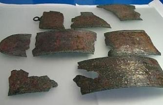 Bronze belt of Urartian warrior found in the ancient city Satala