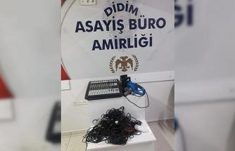 Cemevinin malzemelerini çalan şüpheli tutuklandı