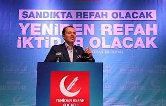 Erbakan: Yeniden Refah Partisi ilk seçimde yanardağ gibi patlayacak 