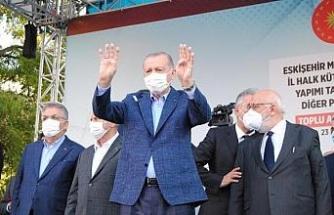 Erdoğan: Memur olarak görevinizi yaptığınız sürece hiçbiri kılınıza dokunamaz/ Ek fotoğraflar