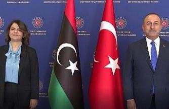 Foreign Minister Cavusoglu met with his Libyan counterpart Mangus