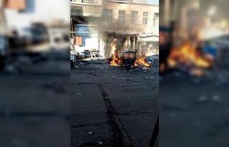 İdlib'de pazar yerine saldırı: 10 ölü, 35 yaralı