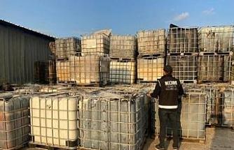 İzmir'de 110 bin litre 'karışımlı' akaryakıt ele geçirildi