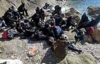 Kaçak göçmenler, 8 kişilik bota 27 kişi binmiş