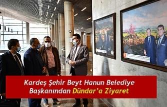 Kardeş Şehir Beyt Hanun Belediye Başkanından Dündar'a Ziyaret
