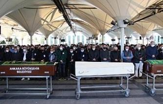 Kemal Kuruçay, Ankara'da son yolculuğuna uğurlandı