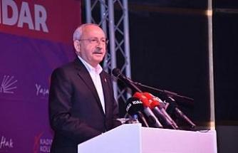 Kılıçdaroğlu: İstanbul Sözleşmesi'ni iktidar olduğumuzda ilk hafta yürürlüğe koyacağız