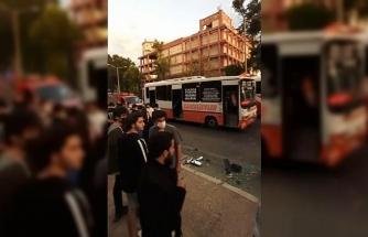 Mersin'de özel halk otobüsü ile yolcu minibüsü çarpıştı: 20 yaralı