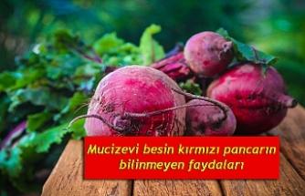 Mucizevi besin kırmızı pancarın bilinmeyen faydaları