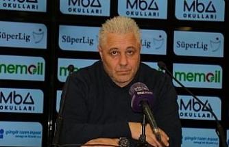 Öznur Kablo Yeni Malatyaspor - Altay maçının ardından