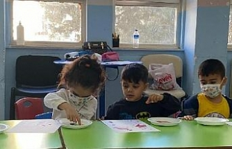 Protez bacağına kavuşan 5 yaşındaki Muhammed, okula başladı