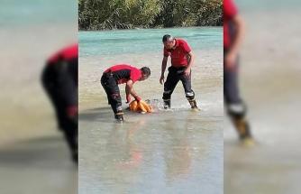 Rafting yaparken botu devrilen doktor hayatını kaybetti
