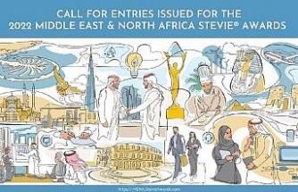 Stevie MENA Ödülleri 2022 için geri sayım başladı