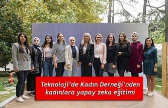 Teknoloji'de Kadın Derneği'nden kadınlara yapay zeka eğitimi