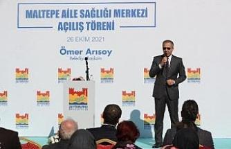 Vali Yerlikaya, Zeytinburnu'nda Aile Sağlığı Merkezi açılış törenine katıldı