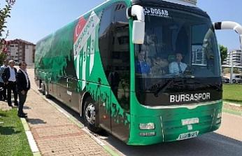 Bursaspor takım otobüsünü geri aldı