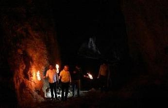 (Özel) Siverek'te Bizans döneminden kalma mağara bulundu