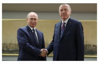Cumhurbaşkanı Erdoğan ile Putin'den aşı görüşmesi