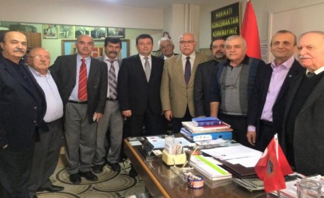 MHP İl Başkanı Topçu emeklileri dinledi