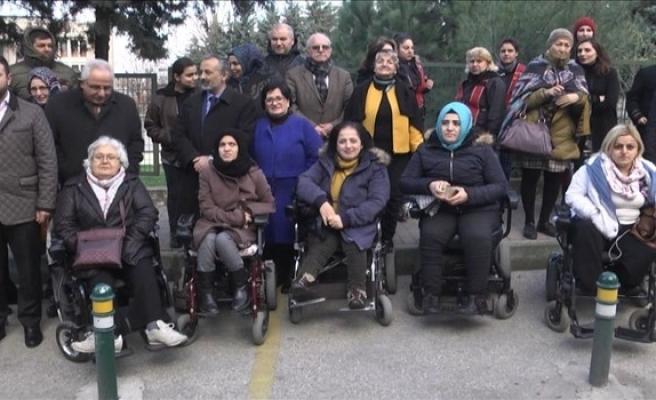 Bursa Engelli Kadınlar Derneği resmi binasına kavuştu