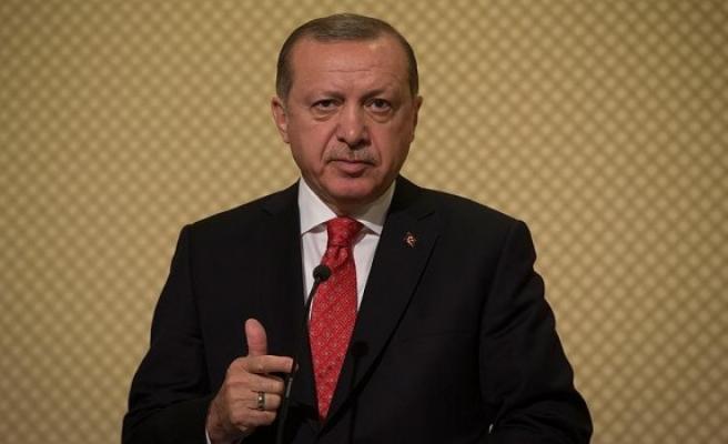 Cumhurbaşkanı Erdoğan 43. Muhtarlar Toplantısı'nda konuşuyor