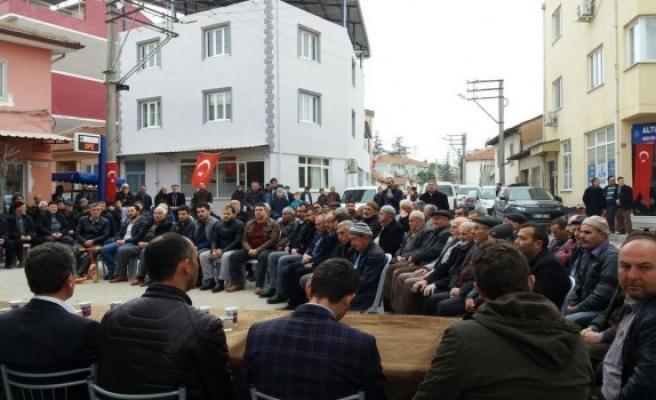 Bursa'dan afrin kahramanlarına mevlit