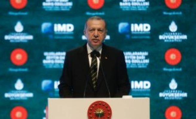 Cumhurbaşkanı Erdoğan eşine zeytin dalı uzattı