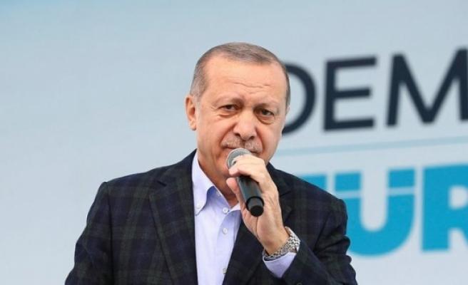 """Cumhurbaşknı Erdoğan Kayseri'de açıkladı: """"Münafıklar çetesi..."""""""