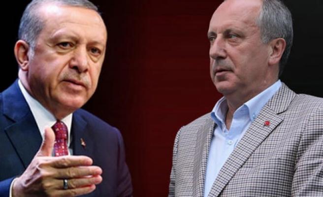 Erdoğan'dan İnce'nin randevu talebine yanıt geldi