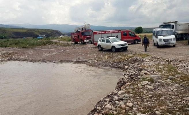 Şırnak'ta sağanak yağış faciaya yol açtı... 2 çocuk kayıp