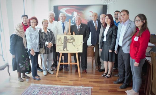 Bursa'da Kızılay'da 40 yıllık koltuk değişimi