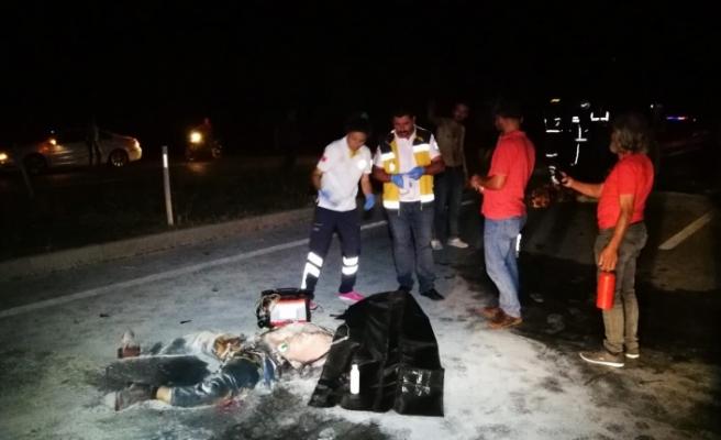 Bursa'da korkunç kaza yanarak can verdiler