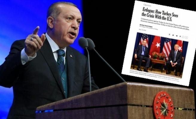 Başkan Erdoğan : ''Saygısızlık trendleri sürerse yeni müttefikler arayacağız''