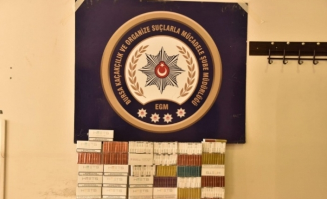 Bursa'da flaş kaçak sigara operasyonu!