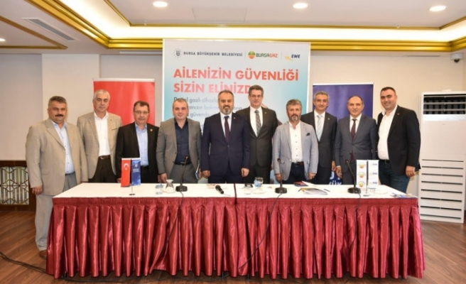 Bursa'da hedef 'güvenli doğalgaz kullanımı'