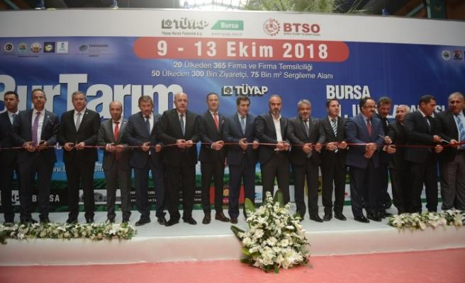 Tarım'ın kalbi Bursa'da atıyor