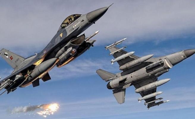 Irak'ın kuzeyine hava harekatı: 14 terörist etkisiz hale getirildi