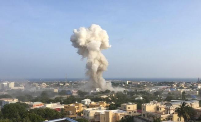 Somali'de ard arda patlamalar!