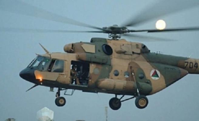 Askeri helikopter düştü! Çok sayıda ölü var