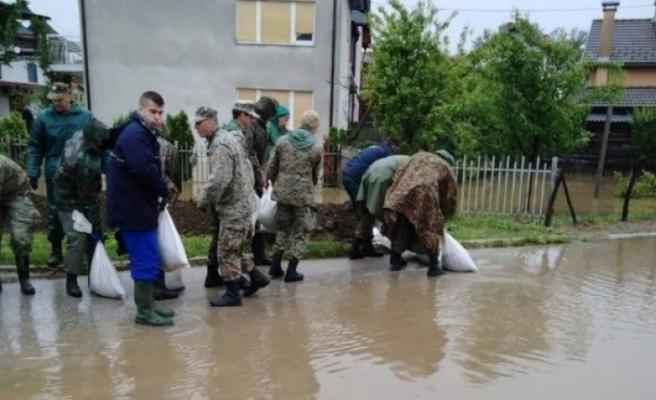 Bosna Hersek'te sel felaketi!