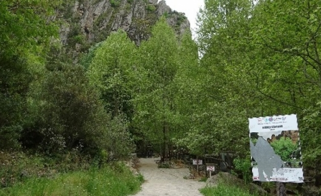 Bursa'daki kanyon, gezenleri büyülüyor