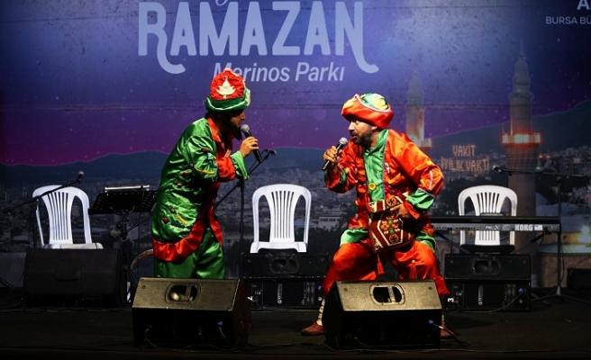 Bursa'da ramazan havası!