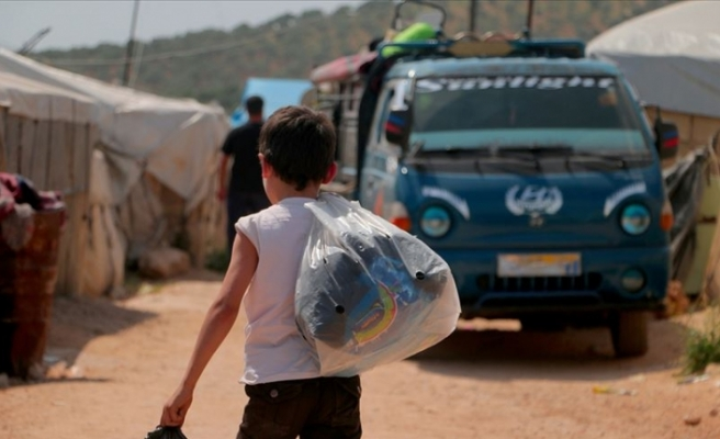 Esed rejimi ve destekçileri 400 bin sivili yerinden etti