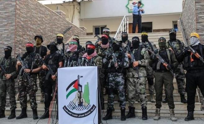 Filistinli gruplardan İsrail'in Gazze saldırılarına tepki