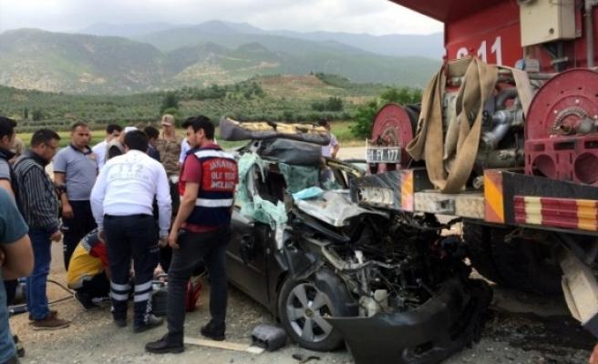 Hatay'da kaza: 2 ölü