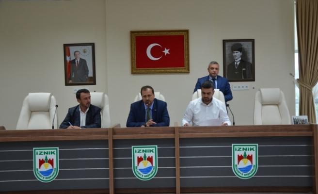 İznik'te mayıs ayı meclisi toplandı