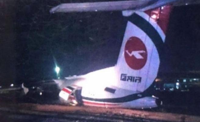 Myanmar'da uçak kazası!