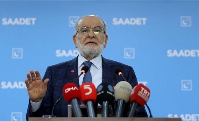 Saadet Partisi Genel Başkanı Karamollaoğlu: Kararımızı geniş bir istişareden sonra vereceğiz